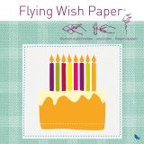 Contento Wunschzettel-Set Flying Wish Paper Mini kit birthday